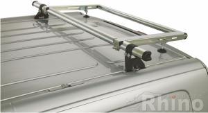 Ford Tourneo Custom  (08/2012 bis...) , Normales Dach H1, , MIT Heckklappe - DELTA - Leiterrolle/Laufrolle