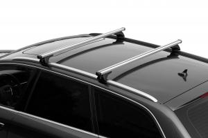 NORDRIVE NOWA Aluminium Grundträger für Fahrzeuge mit geschlossener Reling lt. Fahrzeugliste