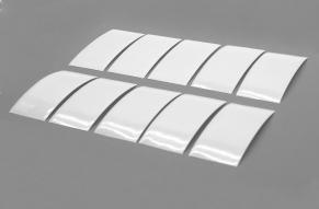 Lackschutzfolie für Montagewinkel  10 Stück  ca. 82 x 38 mm
