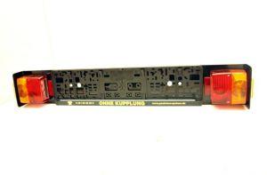 Zusatzbeleuchtung für Paulchen Heckträger, mit Kabel und 13 Pol. Stecker, zum Anschluss an die Steckdose der Anhängerkupplung