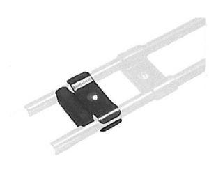 Fahrradzubehör Adapter für die 5 cm First Class Radschiene (Paulchen), für Elektroräder/MTB, zur Verlagerung der Auflagepunkte für die Fahrradreifen nach außen