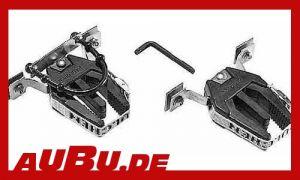 Skigreifer für 1 Paar Alpin oder Langlaufski (Paulchen), Montage in C-Schiene