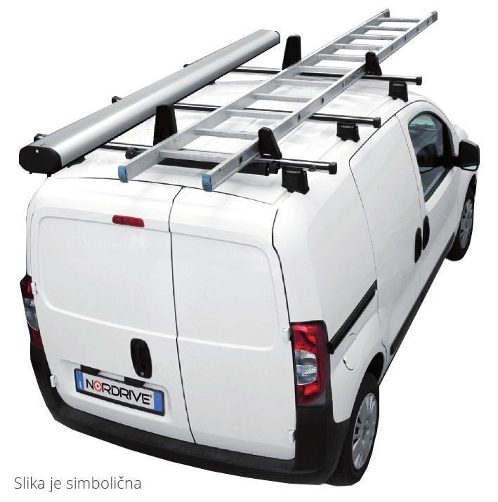NORDRIVE KARGO PLUS Dachträger 3-Träger für RENAULT TRAFIC 3-2014+