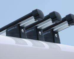 Dachträger Renault Trafic B  (07/2014 bis ... ) normales Dach, Länge L1/L2, 3 Trägerbarren - KARGO PLUS Aluminium Schwerlastträger