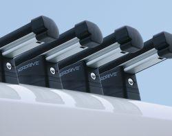 Dachträger Peugeot Boxer (2006 bis...) , hohes Dach H2, Länge nur L3/L4, 4 Trägerbarren, - KARGO PLUS Aluminium Schwerlastträger
