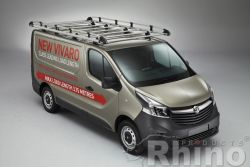 Nissan NV 300 (2016 bis...), Hohes Dach H2,  Länge L1 , mit Flügeltüren,  2,2  x 1,4 Meter - Aluminium Schwerlastkorb inkl. Edelstahl Aufschubrolle
