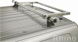Citroen Jumpy  (2007 bis 2016) , Normales Dach H1, Länge L1/L2, MIT Heckklappe - DELTA - Leiterrolle/Laufrolle