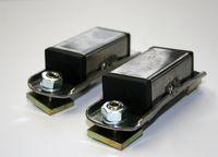 Adapter  für Dachträger mit Nutensystem  20mm bis 25 mm Nut  1 Paar
