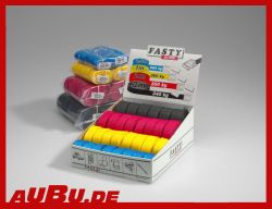 FASTY Spanngurt  Länge 100 cm  Breite 20 mm  Zugkraft bis 300 kg geprüft  Farbe  Gelb