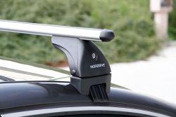 EVOS ALU Grundträger (Spannträger), Nissan Quashqai OHNE Dachreling, 02/2014 bis ...