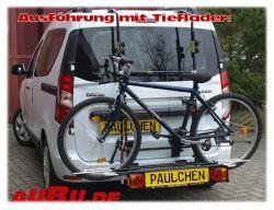 Paulchen Grundträger für Dacia Dokker Bj. 11/2012 bis ... mit Flügeltüren