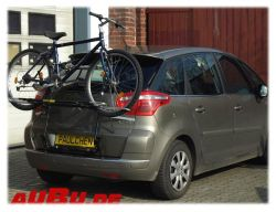 Paulchen Grundträger für Citroen C4 Picasso Bj. 02/2007 bis 04/2013 Typ UD_ Zusatzbeleuchtung wird beim Fahrradtransport empfohlen.