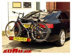 Paulchen Grundträger für Audi A5 Sportback Bj. 09/2009 bis 2016 Grundträger inkl. Tieflader verstärkt ( 50kg) inkl. Controller