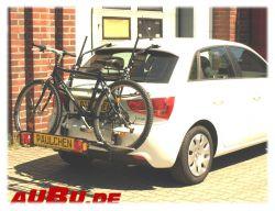 Paulchen Grundträger für Audi A1 Sportback 5-türig Bj. 11/2011 bis 2018 NICHT S- Line/ S1 NICHT Amplified OHNE Dachflügel
