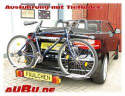 Paulchen Grundträger für Audi A3 Cabrio Typ 8P Bj. 04/2008 bis 03/2013 Grundträger inkl. Tieflader und Controller