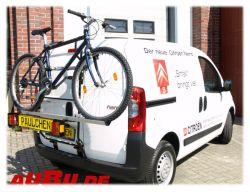 Paulchen Grundträger für Citroen Nemo 02/2008 bis 2015 ( Mit Flügeltüren !! Zusatzbeleuchtung wird empfohlen nicht mit Fahrradzubehör First Class !!)