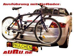 Paulchen Grundträger für Audi TT Roadster Bj. 02/2007 bis 2014 Grundträger inkl. Tieflader und Dioden-Controller mit Fahrradzubehör zu ergänzen !!
