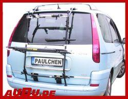 Paulchen Grundträger für Citroen C8 Bj. 07/2002 bis 07/2014 ( Zusatzbeleuchtung wird beim Fahrradtransport empfohlen !)
