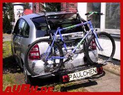 Paulchen Grundträger für Audi A2 Grundträger inkl. Tieflader