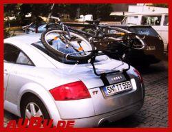 Paulchen Grundträger für Audi TT Coupe ohne Spoiler Bj. 11/1998 bis 09/2006 nur in Verbindung mit Fahrradzubehör First Class