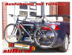 Paulchen Grundträger für BMW 3er Cabrio Typ E36 Bj. 09/1993 bis 3/2000 ( Fahrradtransport bei Cabrios nur mit Tieflader zugelassen !!!)