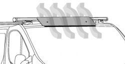 Nordrive Spoiler 110cm (Nur für Nordrive Kargo-PLUS Träger passend) N11058