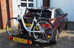 Paulchen Grundträger für Audi A1 Sportback, (8X), S-Line, 5-t, 11/2011 bis 2018