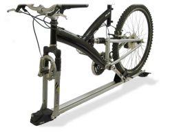 Alu Fahrradträger, Gabelmontage, ATERA GIRO SPEED, die stabilste Art des Radtransport ohne Aufpreis, gleichschließend