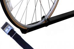 Fahrradzubehör Economy Class für 1 Fahrrad (Paulchen) - schwarz gepulvert