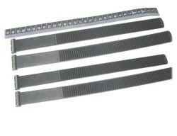 Rastbandset 300mm, Satz (4 Stück), bis 3.0 Zoll Reifenbreite, für Radschalen mit austauschbarem Rastband, für Strada Sport und E-Bike M/ML