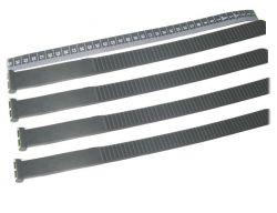 Rastbandset 350mm, Satz (4 Stück), bis 4.0 Zoll Reifenbreite, für Radschalen mit austauschbarem Rastband, für Strada Sport und E-Bike M/ML