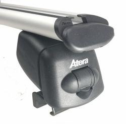 ATERA ALU Grundträger für Audi A4 Allroad Bj. 06/2016 bis ... (hochstehende Reling)