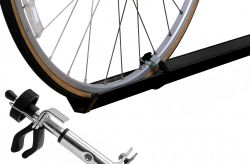 Fahrradzubehör, Comfort Classs, für 1 Fahrrad - schwarz gepulvert (Paulchen)
