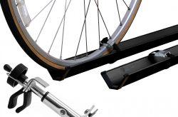 Fahrradzubehör, Comfort Classs, für 2 Fahrräder - schwarz gepulvert (Paulchen)