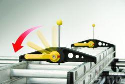 Citroen Jumpy  (04/2016 bis...), Niedriges Dach H1, Länge L3, NUR mit Radstand 3.270/3.275mm, mit Heckklappe,  2,80 x 1,40 Meter - Aluminium Schwerlastkorb inkl. Edelstahl Aufschubrolle