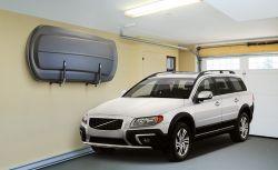 Wandhalter vertikal für Dachboxen, auch für Kanu, Surfbrett und SUP Board geeignet (1 Paar Haltearme)