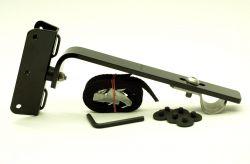 Economy Fahrradhalter 2 Räder mit breiter Teleskopschiene (7cm)