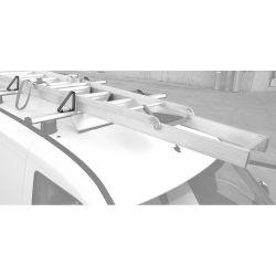 Leiterhalter/Seitenstütze (starr 10cm Höhe) für Nordrive KARGO-PLUS Trägerbarren - 21mm Nut
